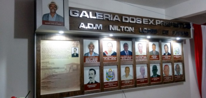 Galeria dos Ex-Prefeitos é Inaugurada