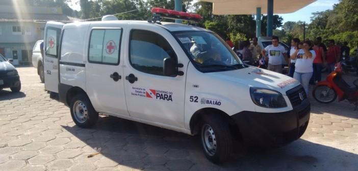 Hospital São Joaquim Recebe Ambulância