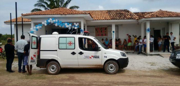 Distrito de Ituquara recebe ambulância