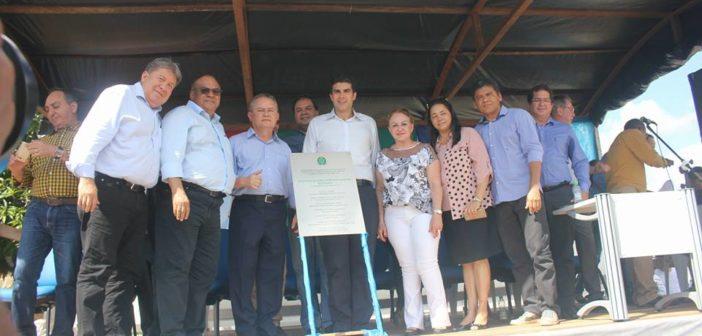 Inauguração da Agência da Previdência Social em Baião